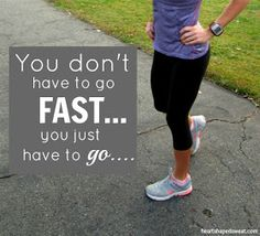 Great advice about running, training and motivation...