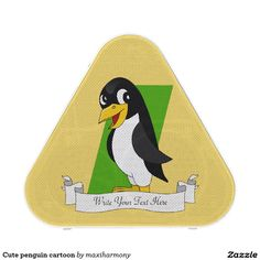 Cute penguin cartoon bluetooth speaker