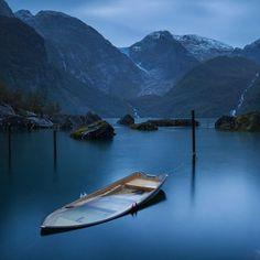 Glacier Folgefonna by yuppidu Follow @travelgurus for the best Tumblr landscapes