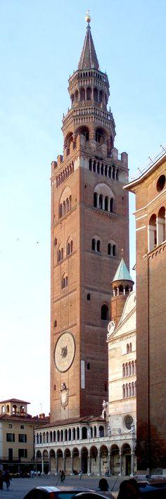 The Torrazzo of Cremona, Province of Cremona Lombardy region, Italy.via SERAFINI-AMELIE