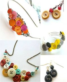 Use Accessories Made from Buttons
