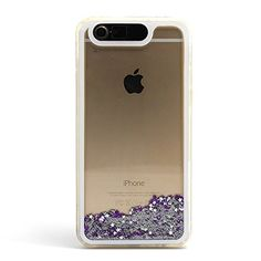 "LifeBox Glow Apple iPhone 6 Case 4.7"" Dual Layer Hybrid Bumper Double Protection with Liquid Infused Glow in the Dark Fluoroscent with Glitter and Stars - Retail Package - Diamond:Amazon:Cell Phones & Accessories"