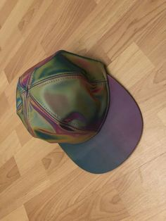 eba4ef7b1 Marty McFly Jr Baseball Cap Back To the Future 2 Hat Neon Costume Color  Changing #
