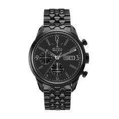Bulova Men's 65C115 Black Automatic Watch
