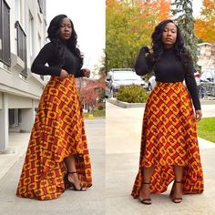 Trendy clothing for womens african fashion 950 African Fashion Skirts, Ghanaian Fashion, African Dresses For Women, African Print Fashion, African Attire, African Wear, African Women, African Clothes, African Beauty