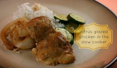 Citrus Glazed Chicken in the Slow Cooker (includes homemade chili sauce recipe) - crockpot365