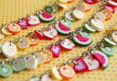 pulseira salada de frutas