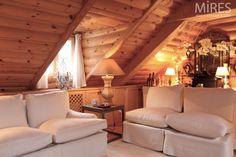 Chalet Design Ideas   Chalet Under the Roofs of Paris