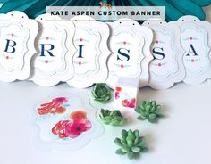 Personalized Banner - Botanical