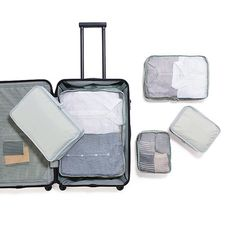 Organize your 30% OFF soft carry suitcase and travel well! Available at all MUJI stores. #mujitogo