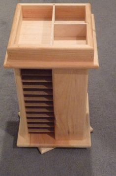 JUST REDUCED  Rotating Ink Pad Caddy  Storage  Holds by lori082259, $87.77
