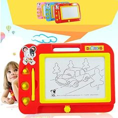 Plastic Magnetic Drawing Board Sketch Sketcher Pad Doodle Writing Painting Toy Craft Art For Kids Children >>> Check out the image by visiting the link.