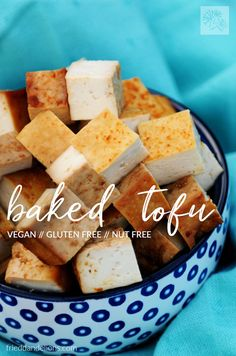 This easy baked tofu will have you passing by the expensive stuff at the grocery store—it's so easy to make it yourself at home! via @frieddandelions