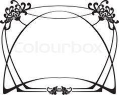 Vector of 'Art Deco Frame'
