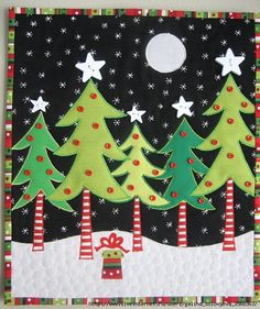 Yet another great looking Christmas wall hanging. 6433469955_32a29d023c_z (537x640, 379Kb)