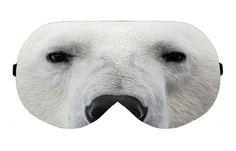 Polar Bear Sleep Sleeping Eye Mask Masks Blindfold Eyemask Eyeshade Sleepmask Eyes Shade cover Slumber Eyemasks Eyeshades Sleepmasks Gift by venderstore on Etsy