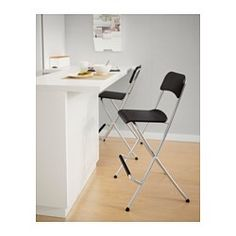 "FRANKLIN Bar stool with backrest, foldable - 24 3/4 "" - IKEA ($40)"