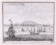 Panorama van Batavia.
