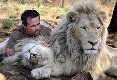 ライオンと対話できる男性としてカラパイアでも何度か紹介してきたが、南アフリカ、ヨハネスブルグ近郊の私営動物保護施設「ライオンパーク」を運営している、動物学者であり動物行動学者のケビン・リチャードソン