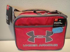 3bc8c0b78e Under Armour Thermos insulated Lunch Box Dark Pink ( Fusha ) & Gray # Underarmour