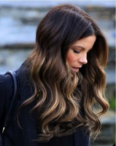 kate beckinsale ombre hair - Google Search