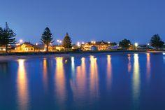 Australia's coast line - Tumby Bay by Night - Eyre Peninsula