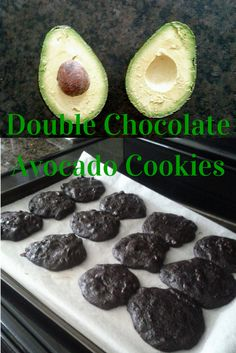 Double chocolate avocado cookies! These were so decadent, and I used maple syrup instead of sugar to sweeten them :) Free 7-day clean eating challenge at ElisesChallenge.com