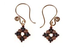 Remember to send us a picture of your version of the earrings and we'll post it on the blog!