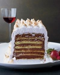 Seven-Layer Dobos Torte - Italian Dessert.
