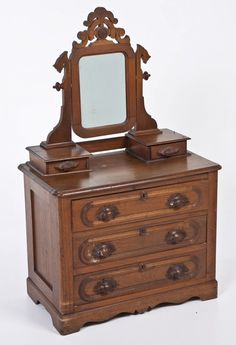 Victorian Miniature Dresser : We had one just like this when I was a kid. I wonder whatever happened to it.