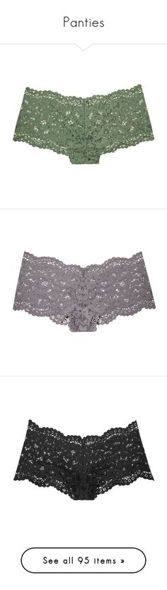 """Panties"" by bridget0799 ❤ liked on Polyvore featuring intimates, la perla, panties, victoria's secret, lingerie, underwear, nude, underwear panties, lace panty and la perla panty"