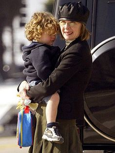 Diane Keaton adopted both Dexter, born in 1995, and Duke, born in 2000, when they were infants. She adopted them as a single mother and has never been married.