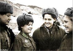 Girls in Stalingrad 1942   Flickr - Photo Sharing!