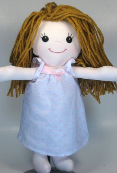 Inspiration for a homemade doll