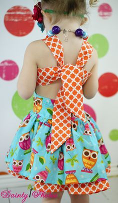 Create Kids Couture Poppy's Peekaboo Dress PDF Sewing Pattern