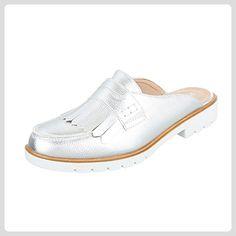 Ital-Design Pantoletten Damen-Schuhe Jazz & Modern Blockabsatz Blockabsatz Sandalen/Sandaletten Rot, Gr 40, Hw262-