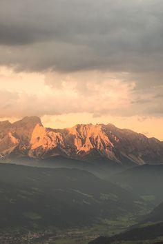 Hoher Dachstein Flachau Austria   by Christiane Nuetzel