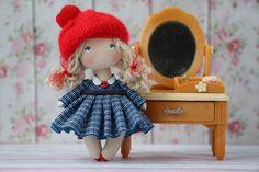 Handmade 1:12th Scale Maison de Poupées Miniature Accessoire Ballerine thème Sac Cadeau 2