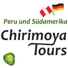 Individuelle Peru und Südamerika Reisen. Hier unser klassische Reiseveranstalter Logo.  www.chirimoyatours.com.