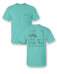 87dccde508d3 Sassy Frass Captivated Let Your Light Shine Comfort Colors Christian Pocket  Bright Girlie T Shirt