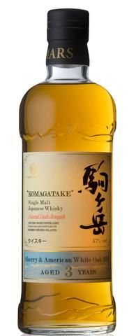 Komagatake Sherry & American White Oak 2011 Single Malt Japanese Whisky (700ml, 57%)
