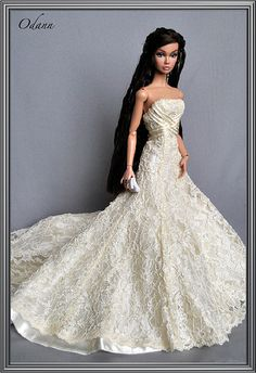 Poppy Parker OOAK.  Beautiful dress, beautiful girl!