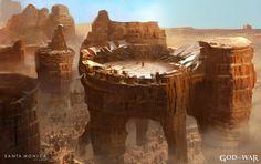 New God of War: Ascension concept art by Jung Park