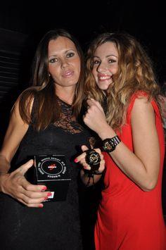 La vincitrice del contest G-SHOCK.  Compleanno G-SHOCK a La Mela. Napoli, 7 dicembre 2012. Festeggiamo i 30 anni di G-SHOCK. #gshock #gshock30italia