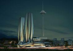 Zaha Hadid Tehran Milad tower