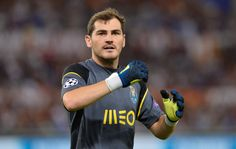 @Porto Iker #Casillas #9ine Fc Porto, Goalkeeper, Baseball Cards, Sports, Adidas, Iker Casillas, Goaltender, Hs Sports, Fo Porter