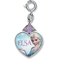This Frozen charm featuring everyone's favorite ice princess warm any Frozen fan's heart! #frozen #frozenfever #disney #love #elsa #letitgo #charmit