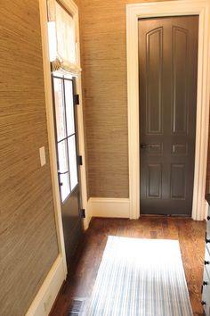 design indulgence:~door color is Urbane Bronze Sherwin Williams. cf