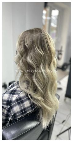 Beautiful Blonde Balayage by Steph 🤍 Head online to book your complementary Balayage consultation and skin test or call 02920461191. #simonconstantinou #balayage #cardiff #hairdresserscardiff #blondebalayage #haircolour #iamgoldwell #ombrehair #colourmelt #colourmeltbalayage Goldwell UK Grey Hair Don't Care, Latest Hair Color, Hair And Beauty Salon, Hair Transformation, Blonde Balayage, Ombre Hair, Hairdresser, Color Inspiration, Colour Trends