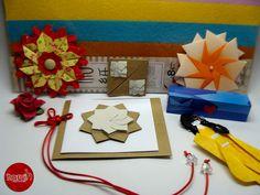 PRESENTES QUE GANHEI by Harui Origami, via Flickr